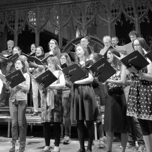 Pre-concert rehearsal at St John the Evangelist church